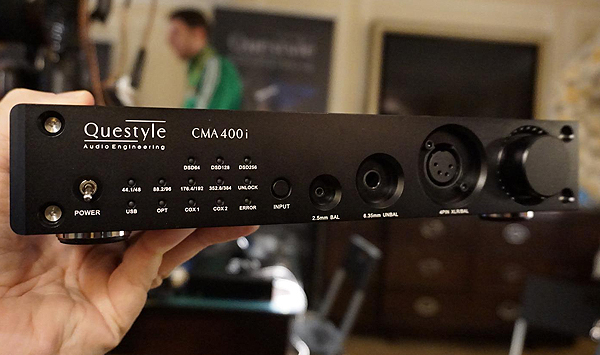 Questyle CMA 400i Affordable Headphone Amp with DAC